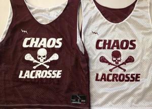 chaos lacrosse pinnies