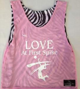 love first spike pinnies