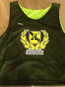 ashburn soccer pinnies