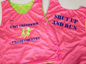East Greenwich Cross Country Pinnies