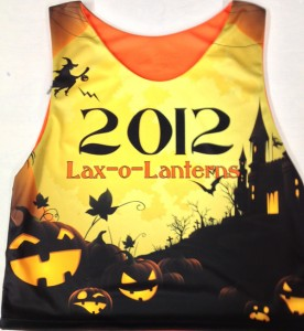 Custom Sublimated Lacrosse Pinnies