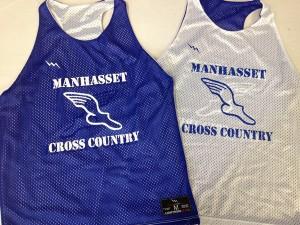 Manhasset Cross Country Pinnies