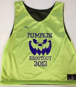 pumpkin shootout pinnies