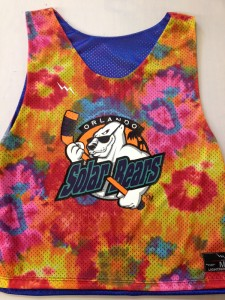 Solar Bears Hockey Pinnies