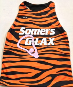 Tiger Striped Lacrosse Pinnies