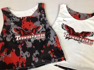 thunderbirds seniors pinnies