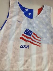 USA Flag Custom Pinnies